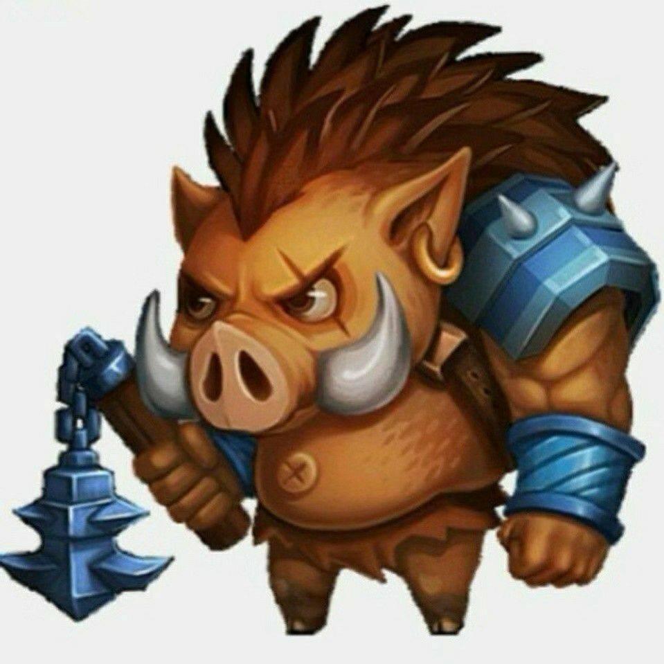 参禅的野猪
