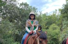 抗癌日记第268天,今天骑了马拍了照,还看了丽江金沙美轮美奂的表演,充实的一天